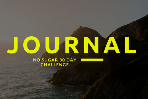 Journal for the No Sugar Challenge