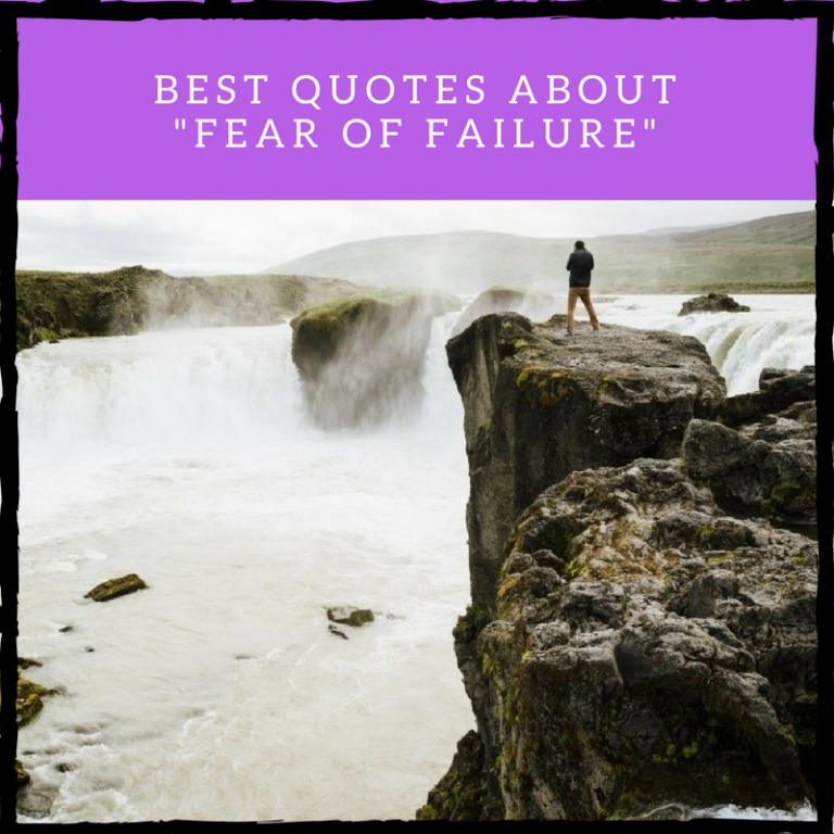 Best Fear of Failure Quotes