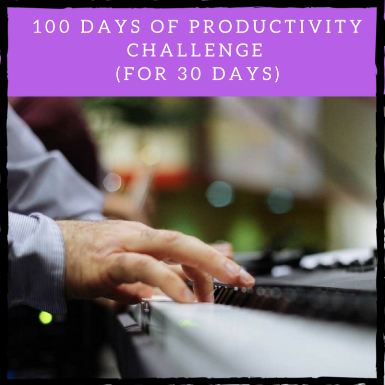 100 days of productivity