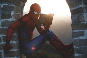 book summary spiderman